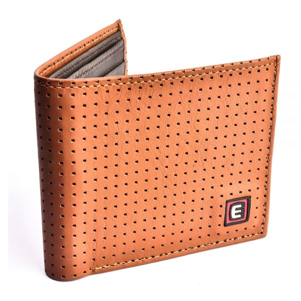 BRAITHWAITE – A Perforated Series Casual Wallet for Men