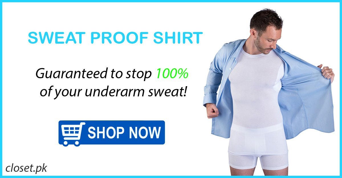 Underarm sweat proof shirt pakistan
