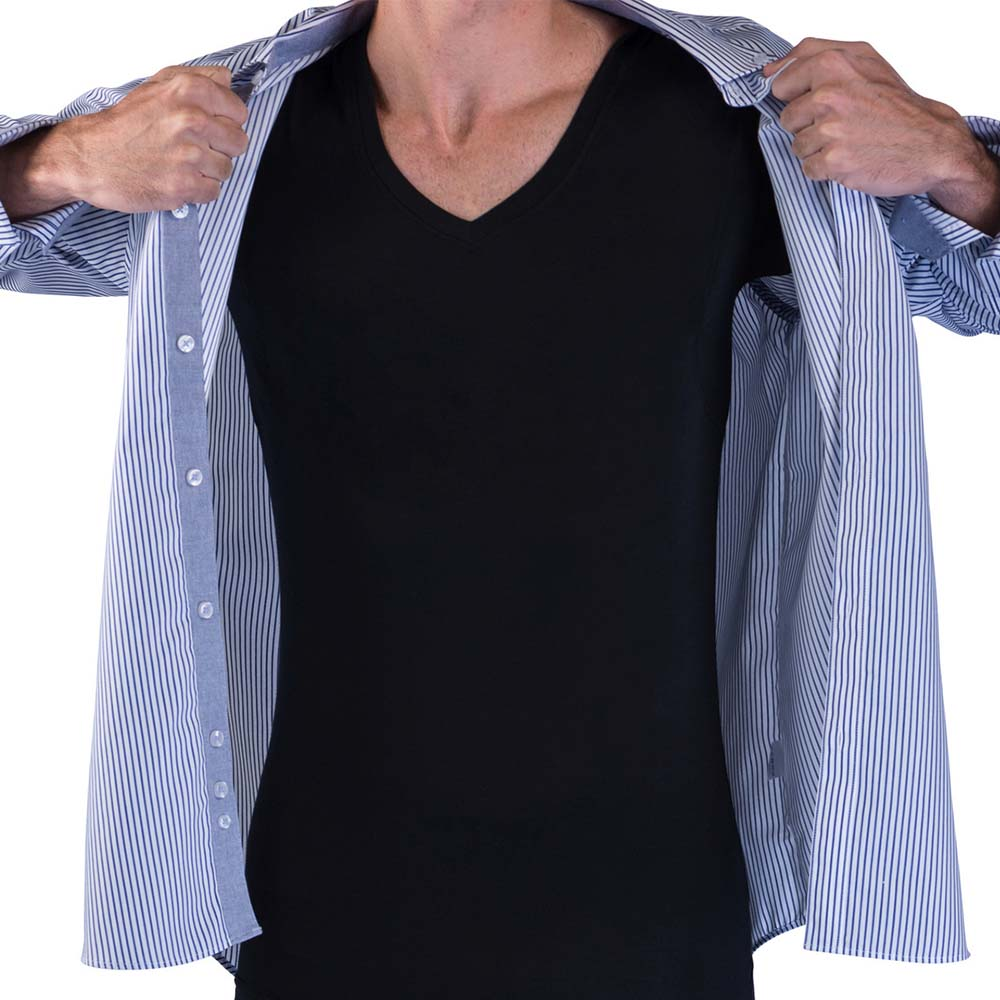 underarm sweat proof shirt anti sweat t shirt undershirt closet pk